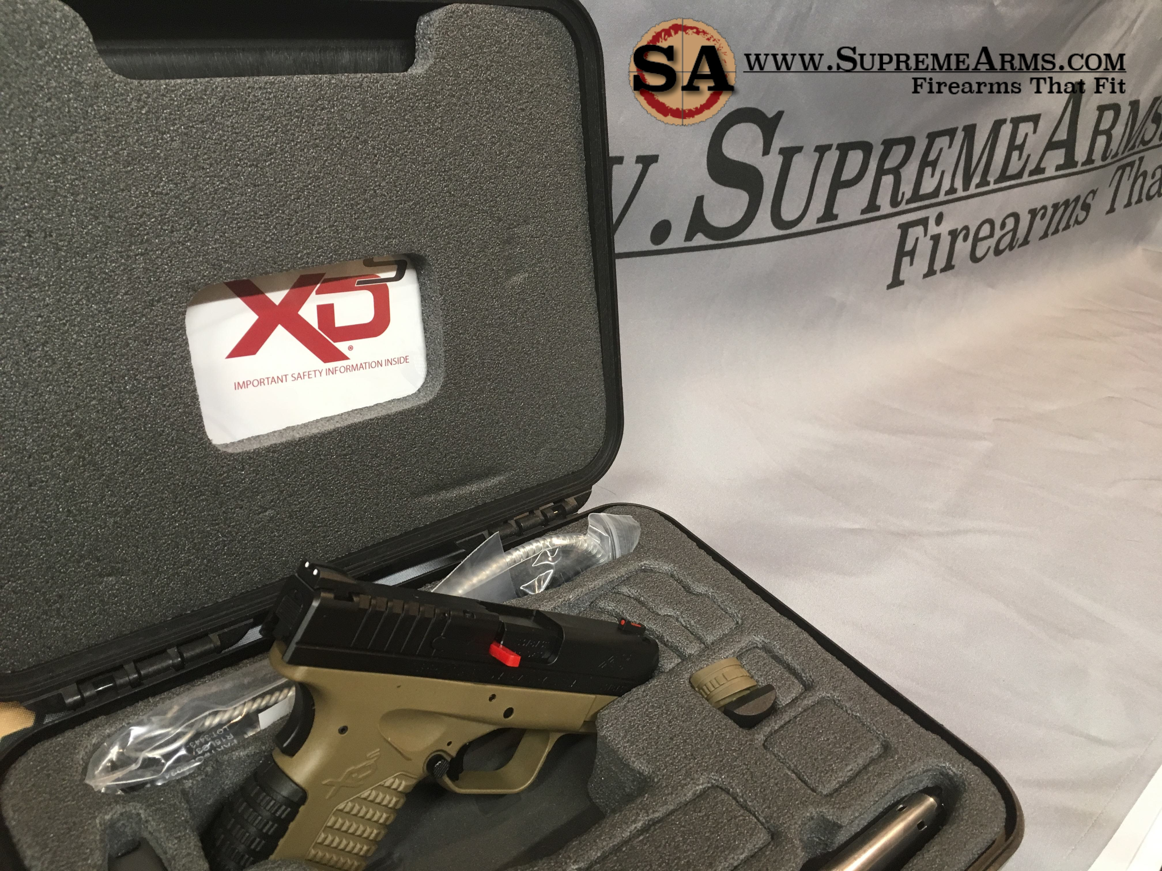 Springfield XDS 9 FDE